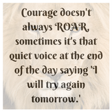 Virtual Assistant Values - Courage